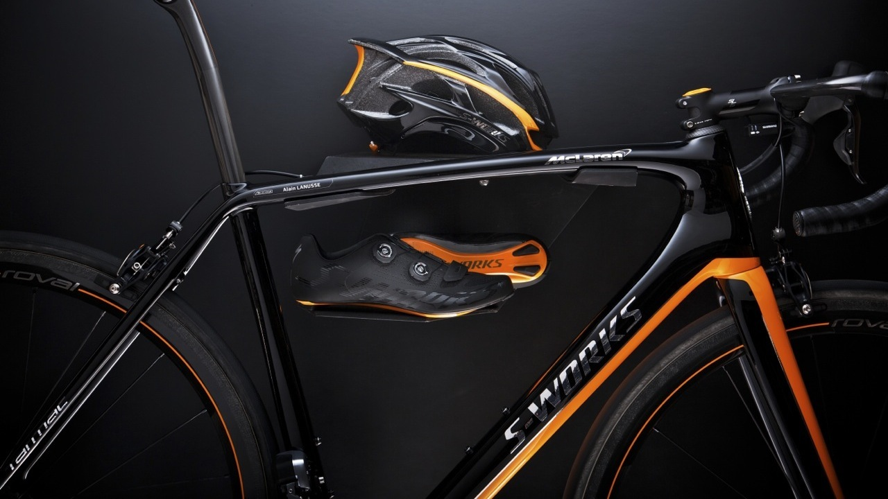 $20,000 Limited Edition S-Works McLaren Tarmac Bike