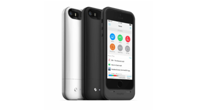 New Mophie 64GB Space Pack Battery Case for iPhone 5s/5