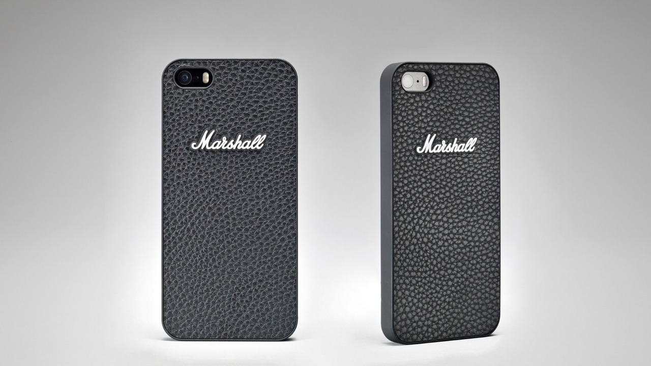Marshall iPhone 5 and Samsung Galaxy S4 Cases