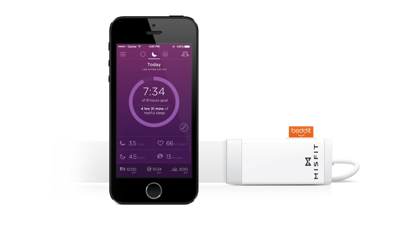 Misfit Partners with Beddit to Release Sleep System