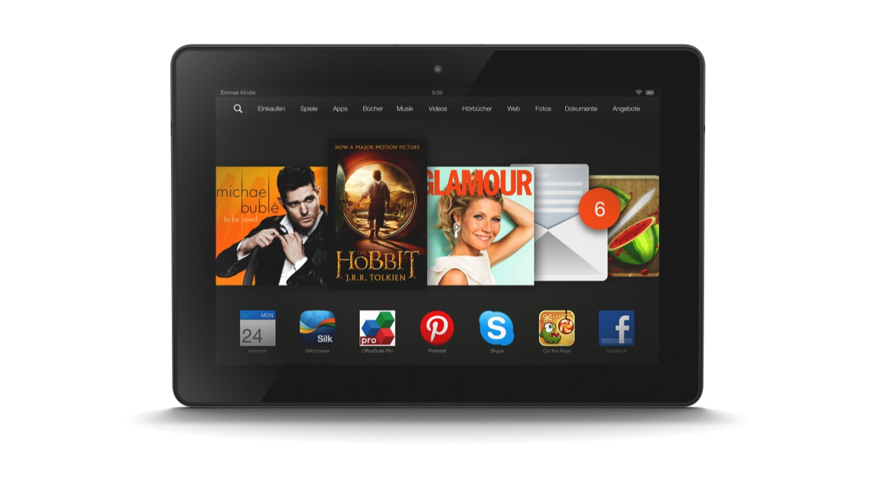 Today Only: $100 Off Kindle Fire HDX 4G LTE