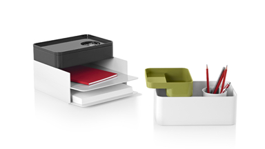Sam Hecht and Kim Colin's Formwork Desk Accessories for Herman Miller