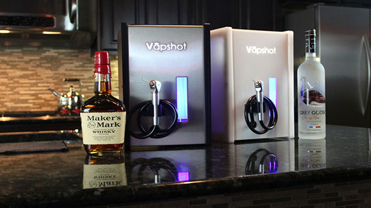 Get the Party Started Faster with Vapshot Mini