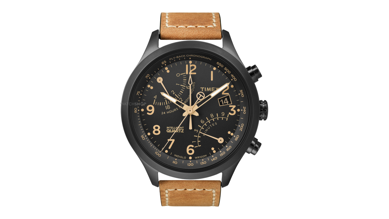 Timex Intelligent Quartz Fly-Back Chronograph Wrist Watch