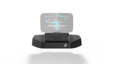Navdy Aftermarket Car Console Head-Up Display
