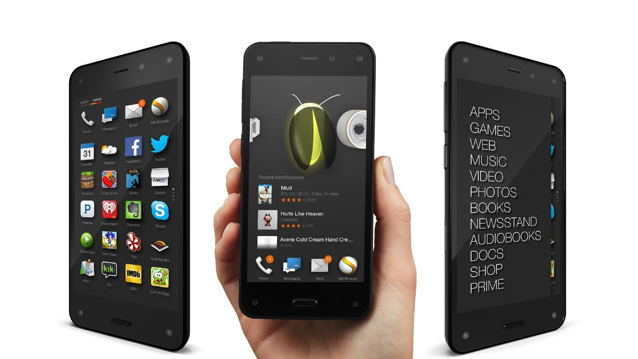 Amazon Fire Phone Now 99 Cents with Two-Year Contract