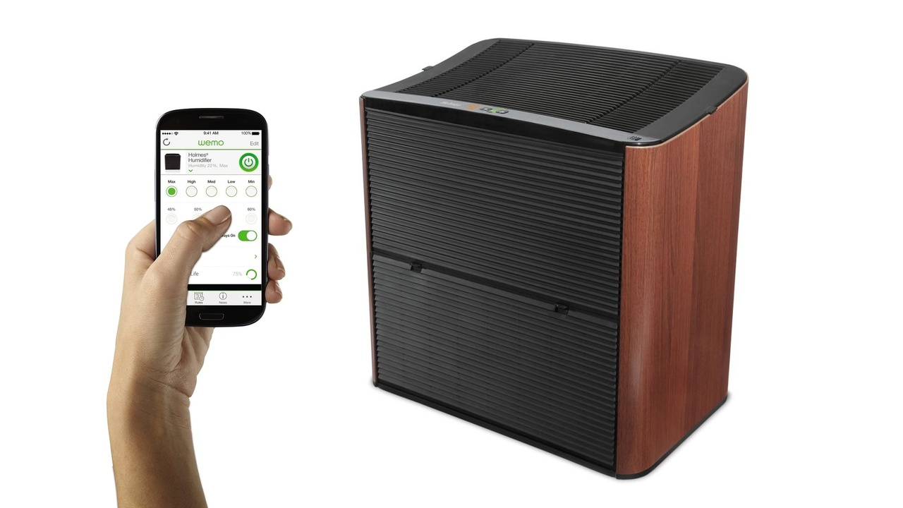 Holmes Smart Humidifier Enabled with Belkin's WeMo