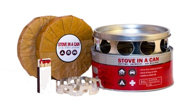 Stove In A Can Portable Cooking Kit