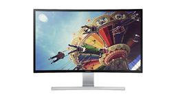 Samsung 27-Inch Curved LED-Lit Monitor [$380]