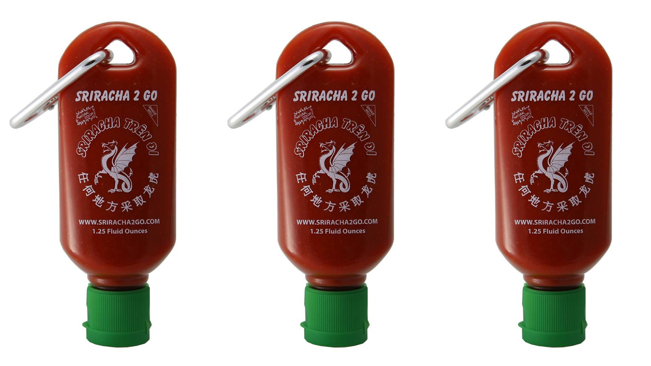Sriracha2Go: A 1.25 Ounce Pocket-Sized Sriracha Bottle