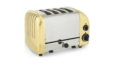 Dualit's £1,000 24-Carat Gold Plated Toaster