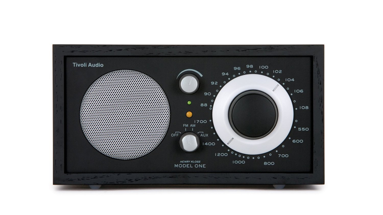 desire this tivoli audio model one am fm table radio. Black Bedroom Furniture Sets. Home Design Ideas