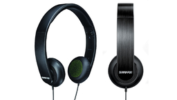 Shure SRH144 Semi-Open Portable Collapsible Headphones