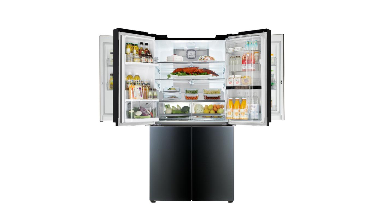 LG to Unveil First Mega-Capacity Refrigerator with Double Door-in-Door at CES 2015