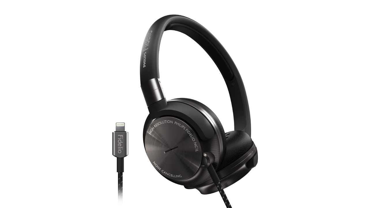 Philips Fidelio: World First NC1L On-Ear Headphones