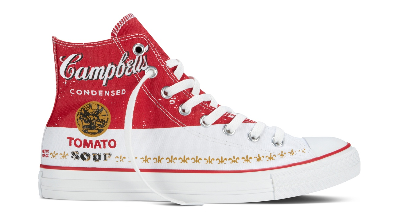 Spring 2015 Converse All Star Andy Warhol Collection