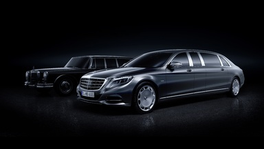 New Mercedes Maybach Pullman