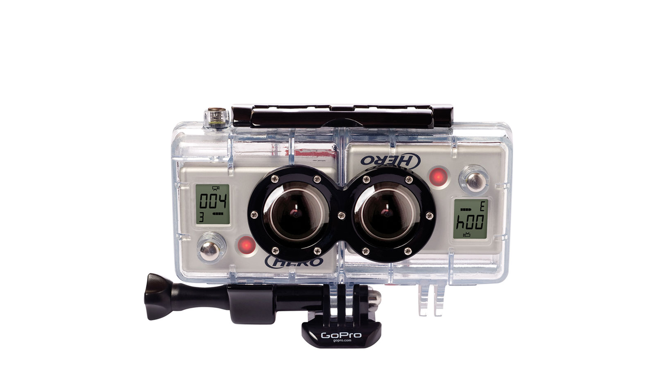 3D HERO System for GoPro