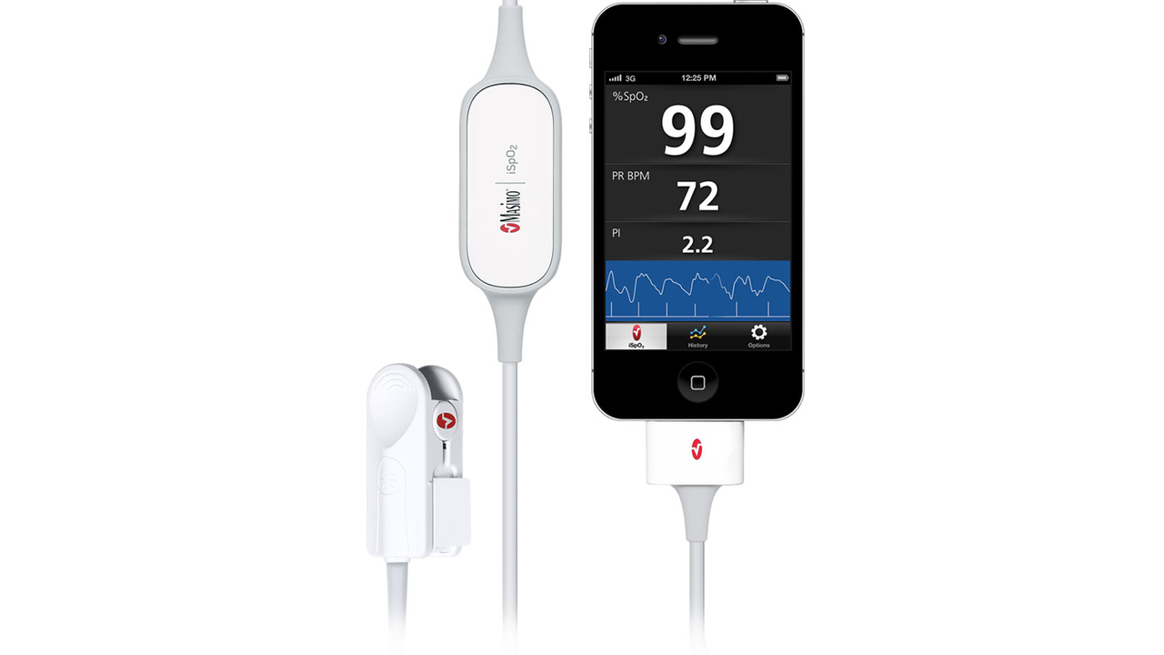 iSpO2 Pulse Oximeter by Masimo [CES2013]