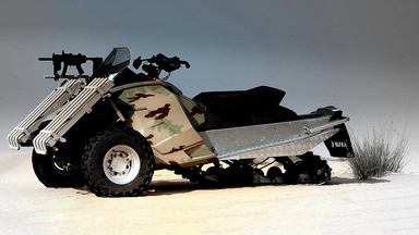 Sand-X T-ATV 1200 Special Operations Tracked All-Terrain Vehicle