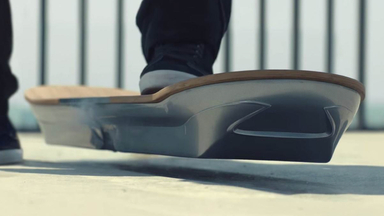 Lexus Creates Hoverboard Operated by Magnetic Levitation