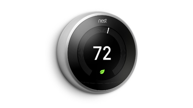 New third Generation Nest Thermostat with Slimmer Profile and Larger Screen