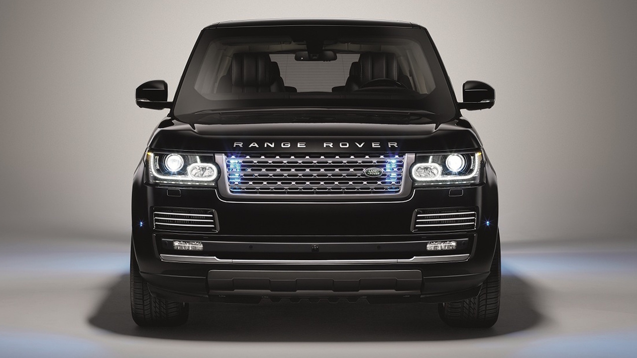 Land Rover Range Rover Sentinel Luxury Armoured Vehicle