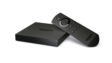 New Amazon Fire TV with 4K Ultra HD and Fire TV Stick with Voice Remote