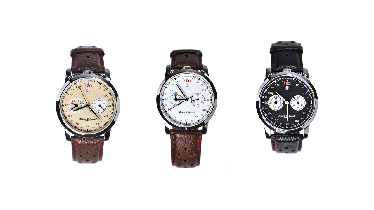 The Boston & Stewill Tourer II Chronograph Watch
