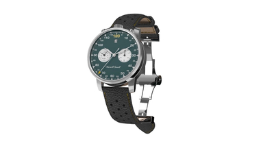 Boston & Stewill Relaunch with New Racing Green Dial Wrist Watch