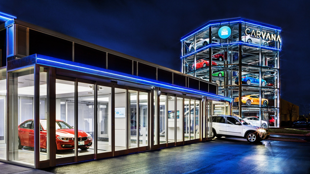 Desire This Carvana Launches World S First Car Vending
