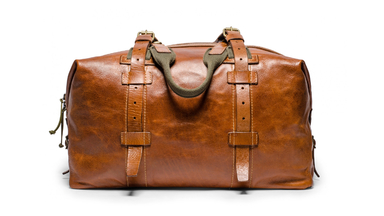 Kaufmann and Mercantile Soft Leather Weekender Bag