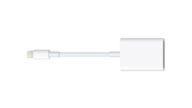 Apple iPhone Compatible 'Lightning to SD Card' Reader With USB 3 Support