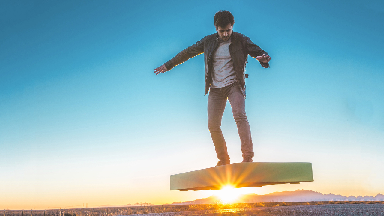 ArcaBoard: A Hoverboard that Actually Somewhat Works