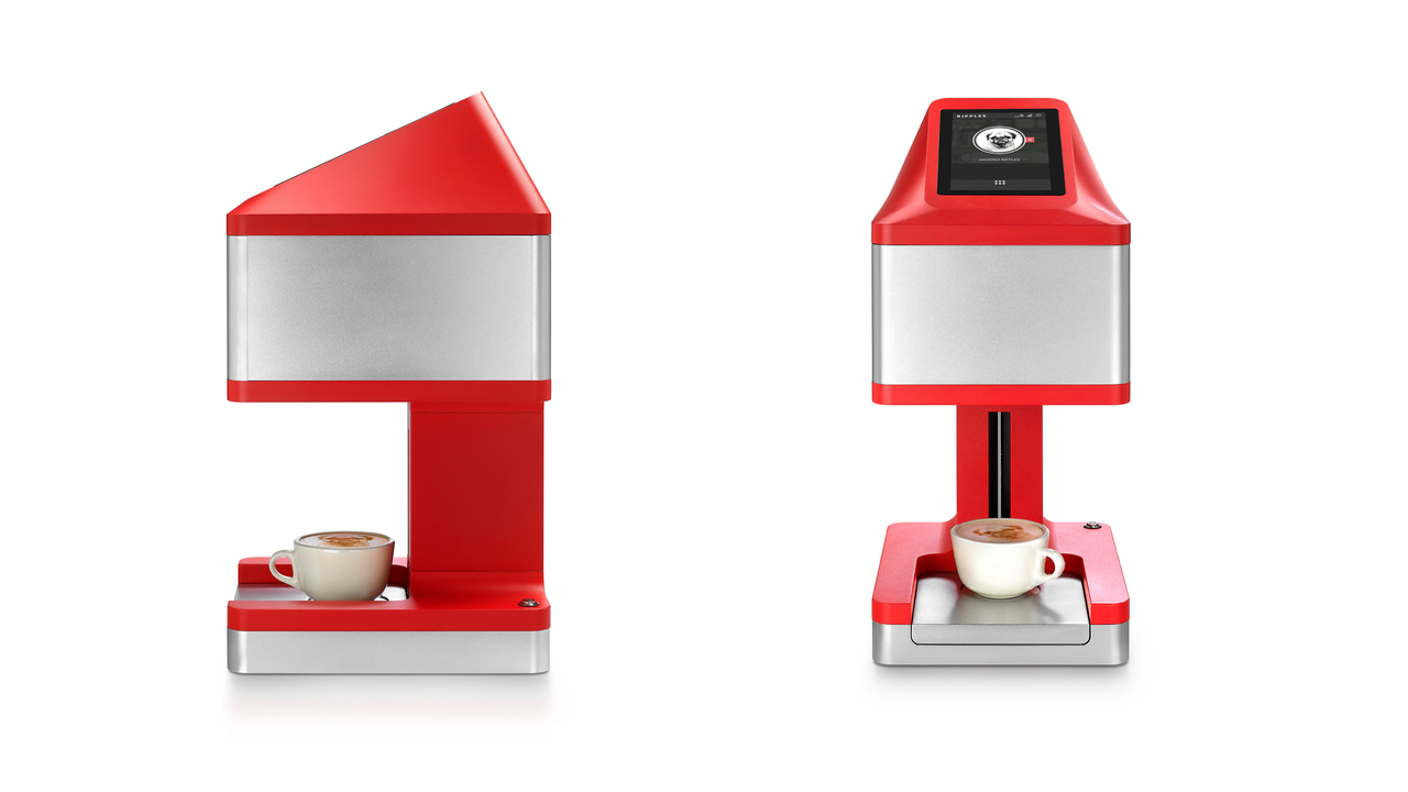 Israeli Company Redefines the Art of Coffee with The Ripple Maker