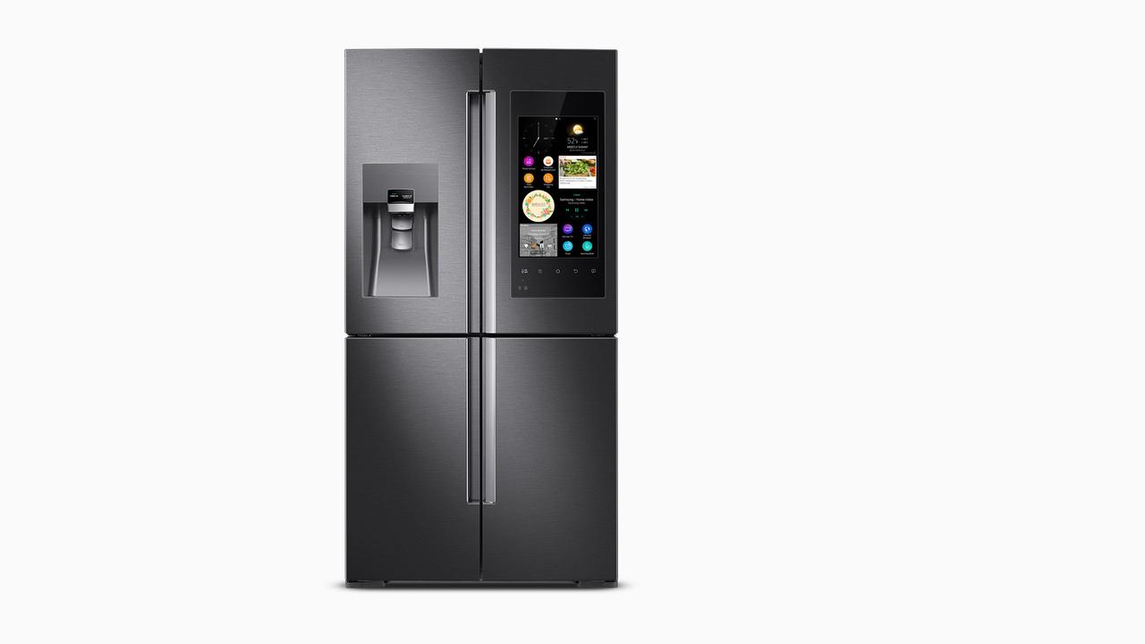 desire this samsung family hub refrigerator. Black Bedroom Furniture Sets. Home Design Ideas