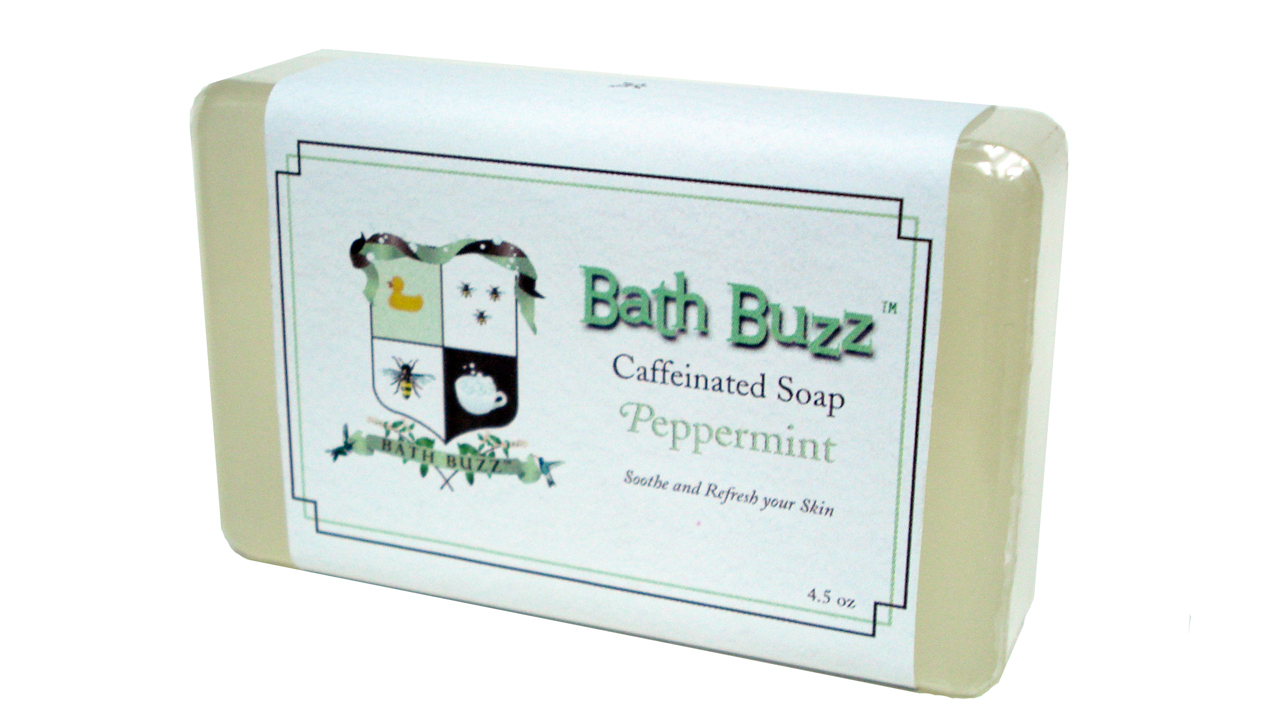 Bath Buzz Caffeinated Soap