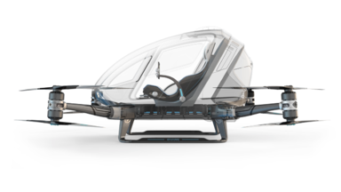Chang 184: World's First Electric, Personal Autonomous Aerial Vehicle