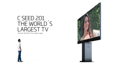 C SEED World's Largest Outdoor LED TV