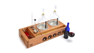 Handcrafted Winemaking Kit from Box Brew Kits
