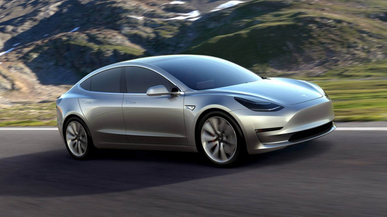 Tesla Unveils New Model 3 Vehicle Starting at $35,000