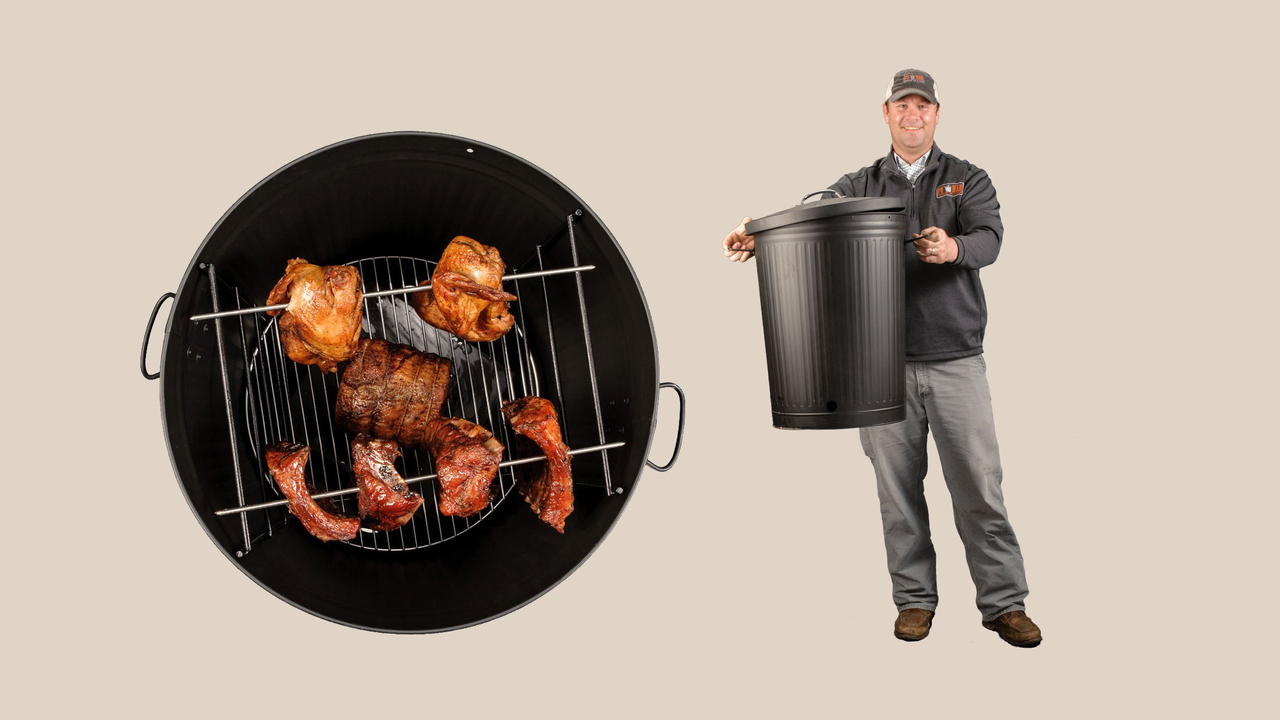 The Original Po' Man Charcoal Grill