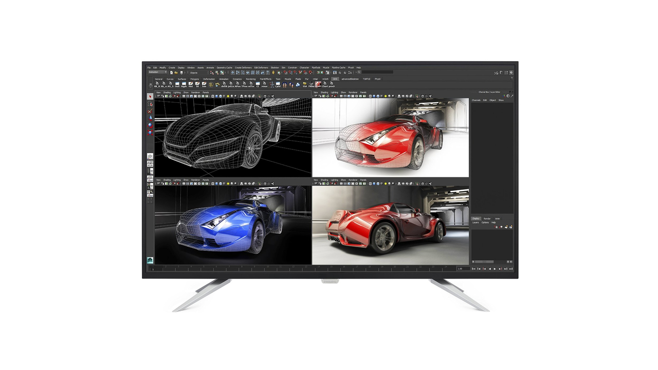 Philips UltraClear 43-inch class 4K Ultra HD LCD Display