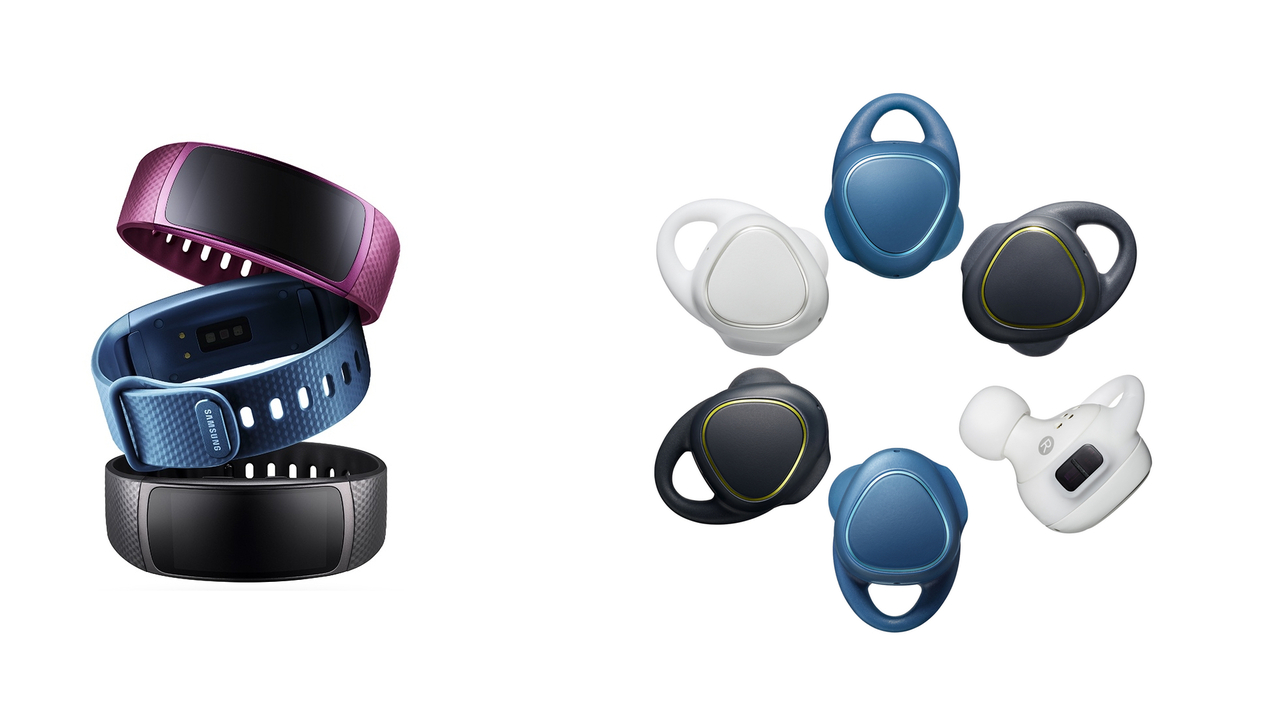 Samsung Launches Gear Fit2 and Gear IconX