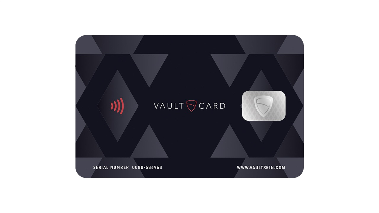 Combat Contactless Card Fraud with Vaultskin's VAULTCARD