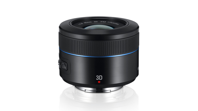 Samsung 45mm 3D Camera Lens