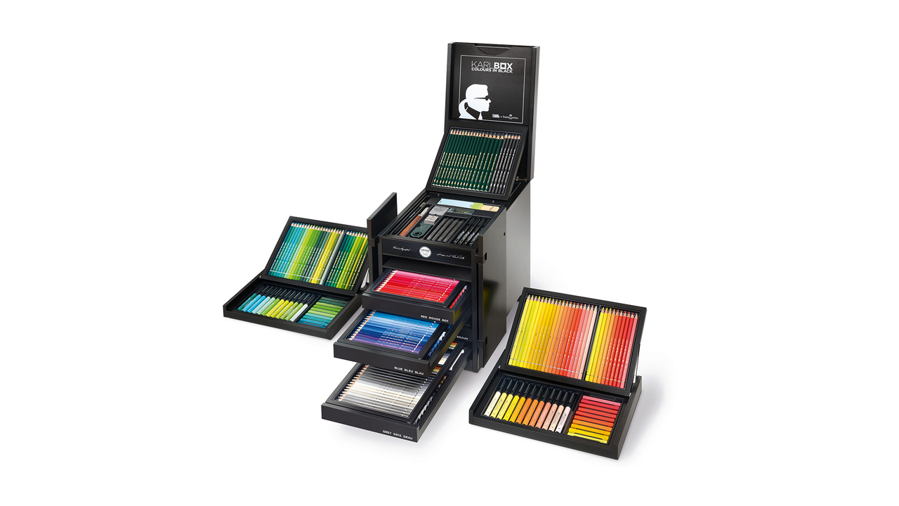 Limited Edition Karl Lagerfeld X Faber-Castell Drawing Set