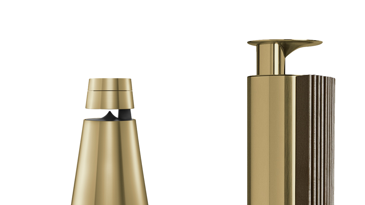 Bang & Olufsen Brass Toned Modern Collection
