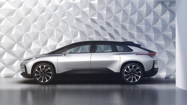 Faraday Future Reveals the FF 91 at CES 2017