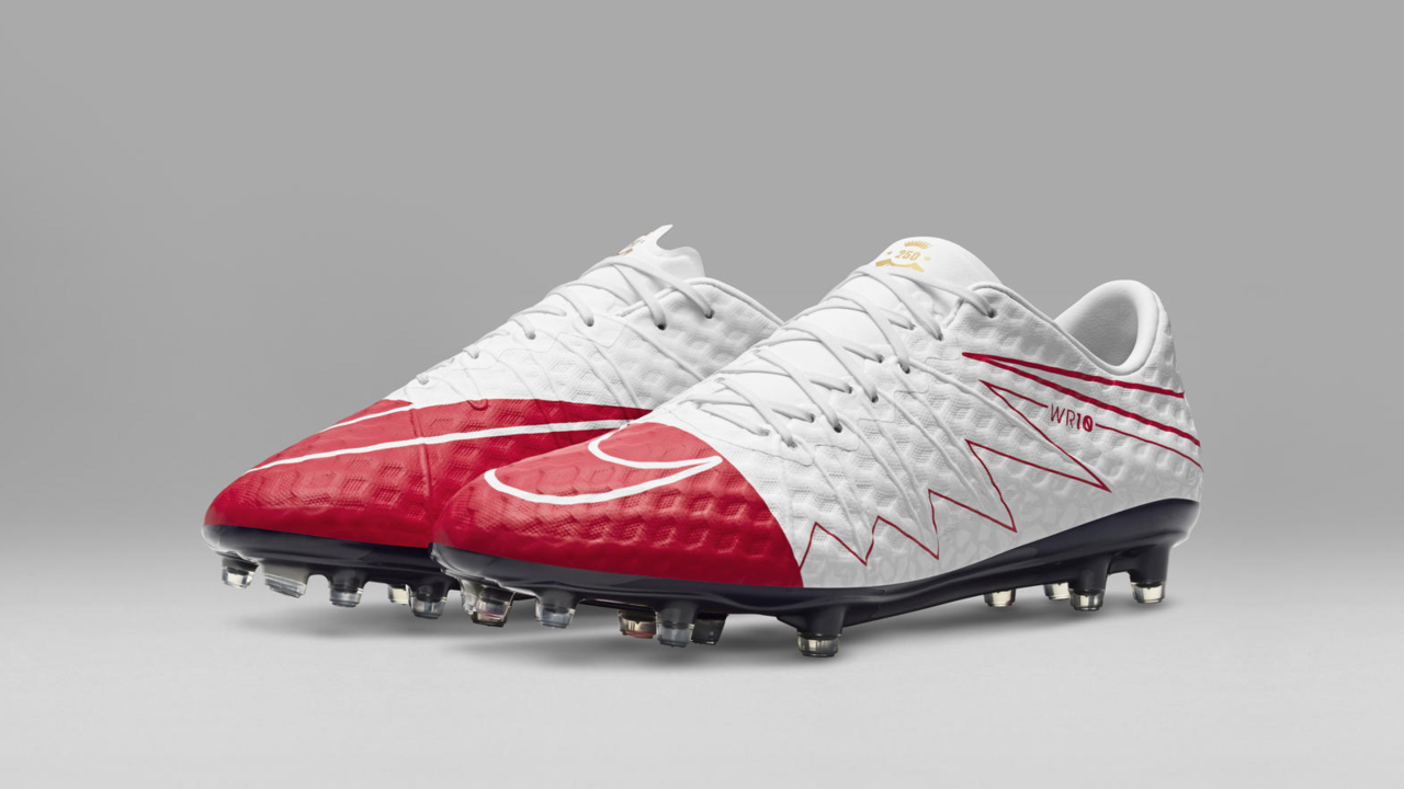 Nike Football Introduces Special edition Hypervenom WR250
